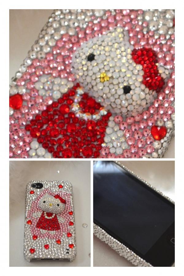 スマホケース i Phone 4, 4s スワロフスキー ¥23,750